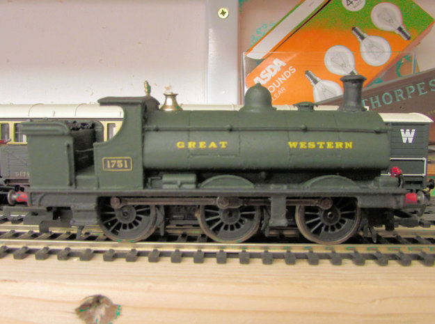 GWR Saddle Tank Body For Std Hornby 0-6-0