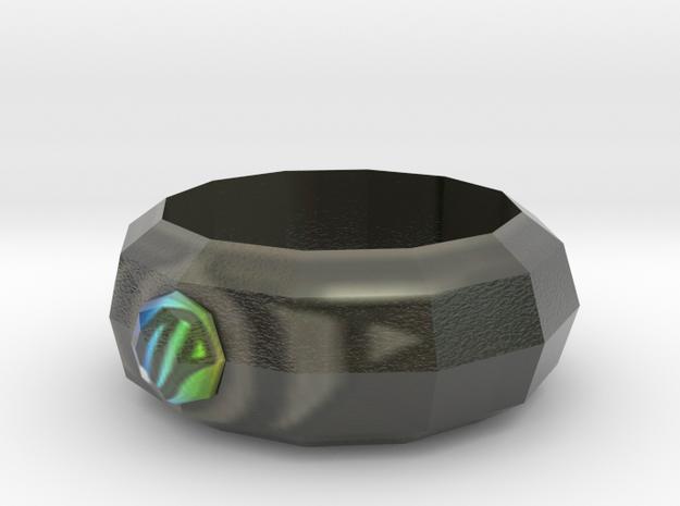 Mega Ring in Coated Full Color Sandstone