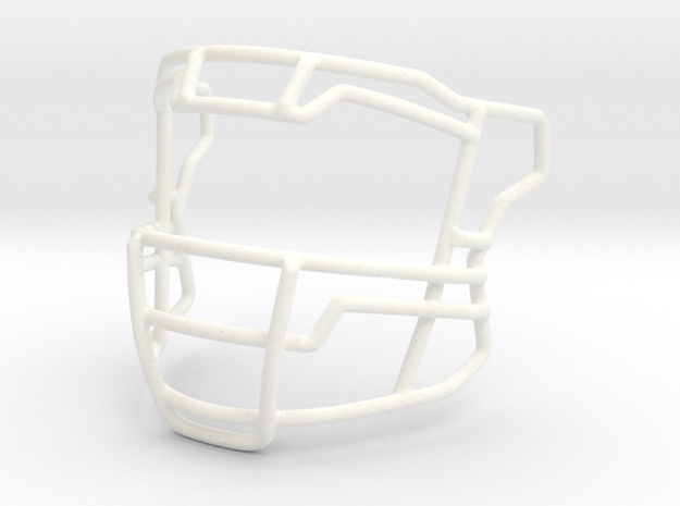 Savage Flex Mask  in White Strong & Flexible Polished