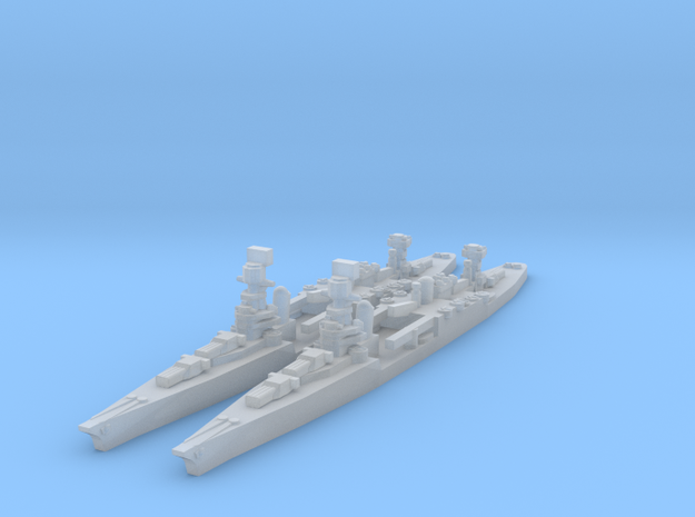 Northampton class in Smooth Fine Detail Plastic