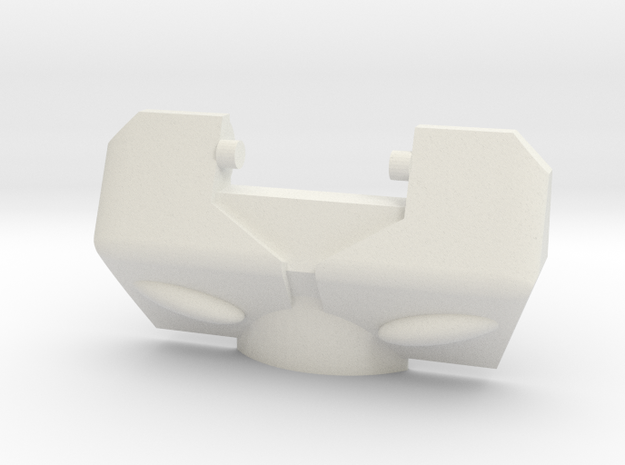 IDW Moonracer Chestplate for CW Streetwise/Prowl in White Natural Versatile Plastic