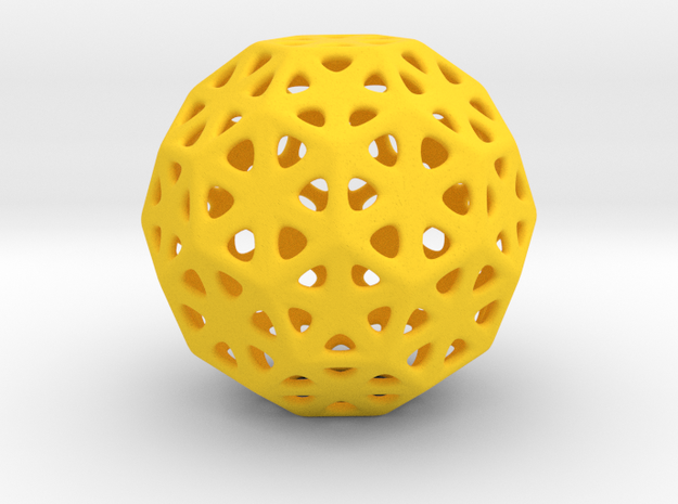 1 Inch Soccer Ball Triangles 3d printed