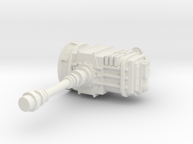 1/24 1/25 Transaxle in White Strong & Flexible