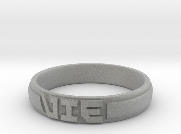 VIE Ring in Metallic Plastic