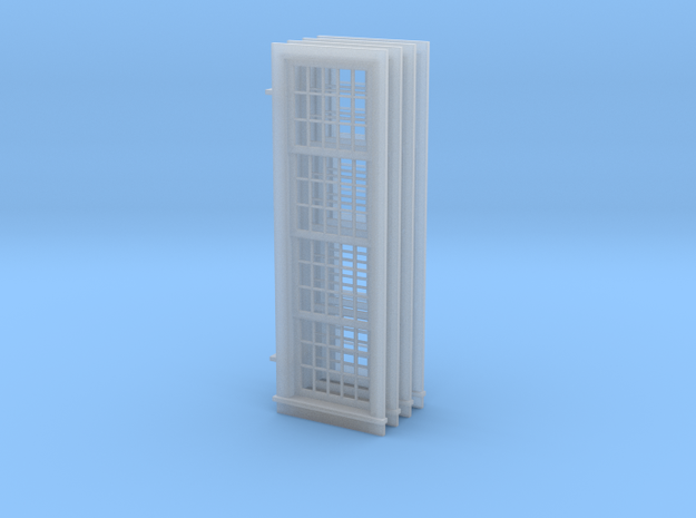 1-64 Roundhouse Window in Smooth Fine Detail Plastic
