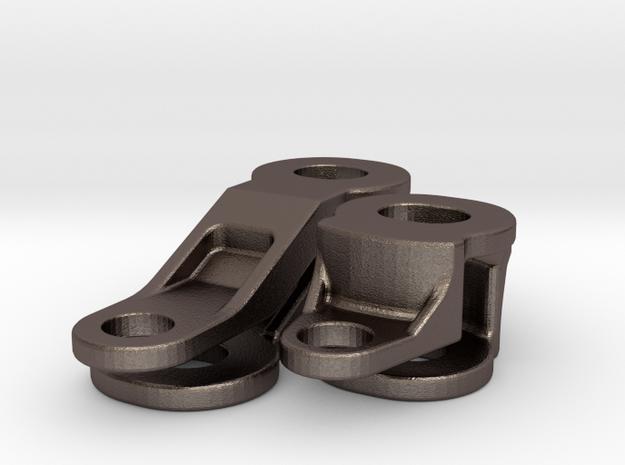 Topcaseadapter Stahlteile in Stainless Steel