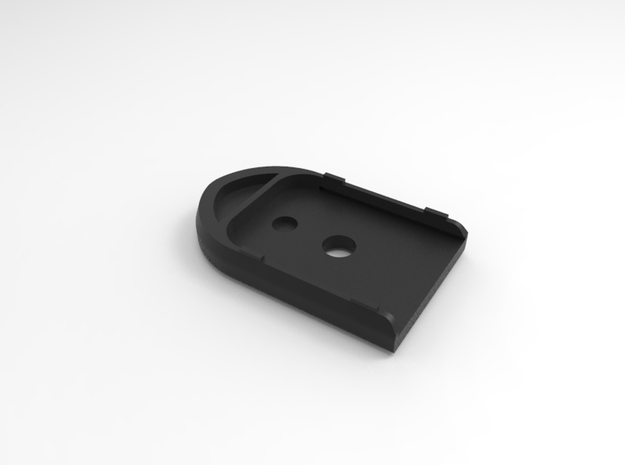 Walther PPQ Magazine Baseplate in Black Natural Versatile Plastic