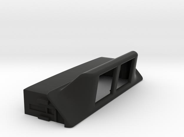 NSX display housing v01 in Black Strong & Flexible