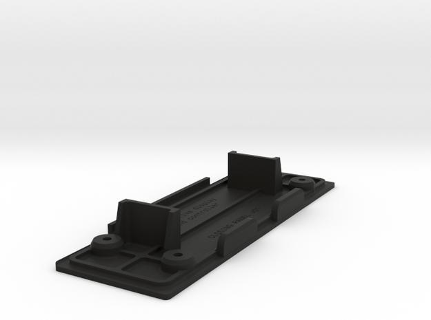 NSX display housing closing panel v01 in Black Strong & Flexible