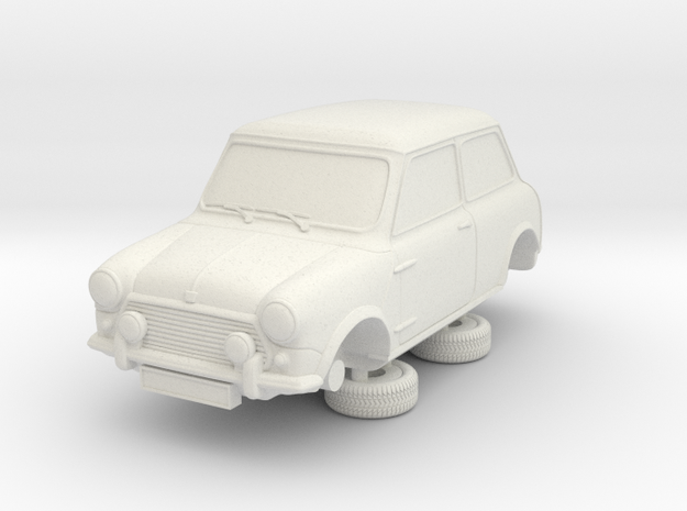 1-87 Austin 92 Saloon in White Natural Versatile Plastic