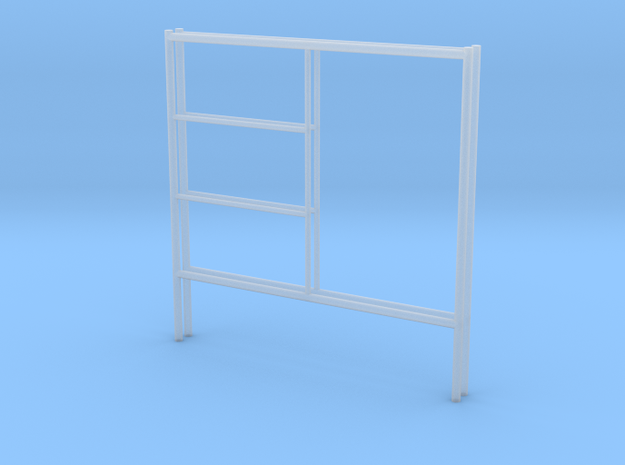 1:48 2 Step Frame Ends 60x60 in Smooth Fine Detail Plastic