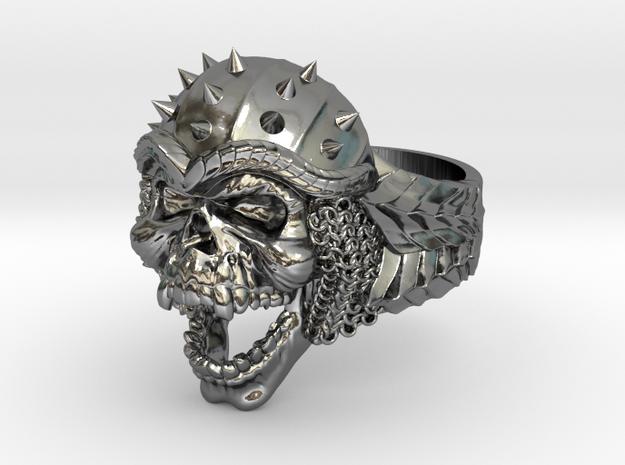 Viking Skull Ring