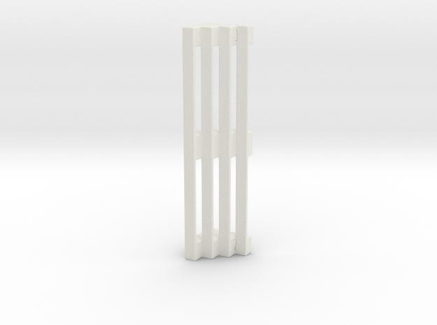 Bleachers in White Natural Versatile Plastic