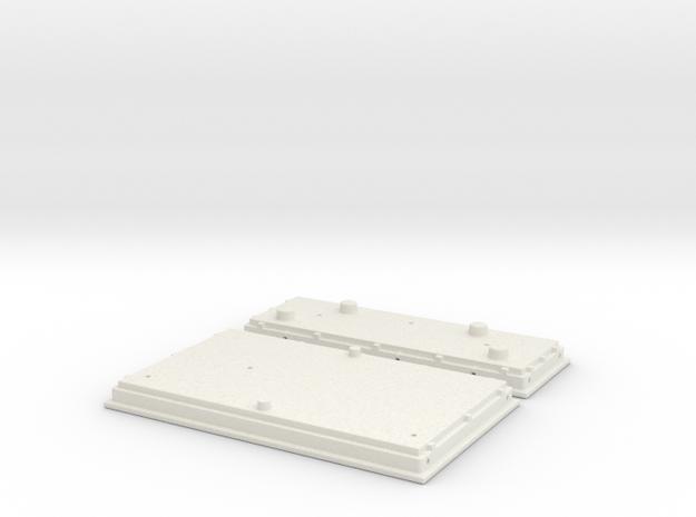 UP PTC Array (G - 1:29) in White Natural Versatile Plastic
