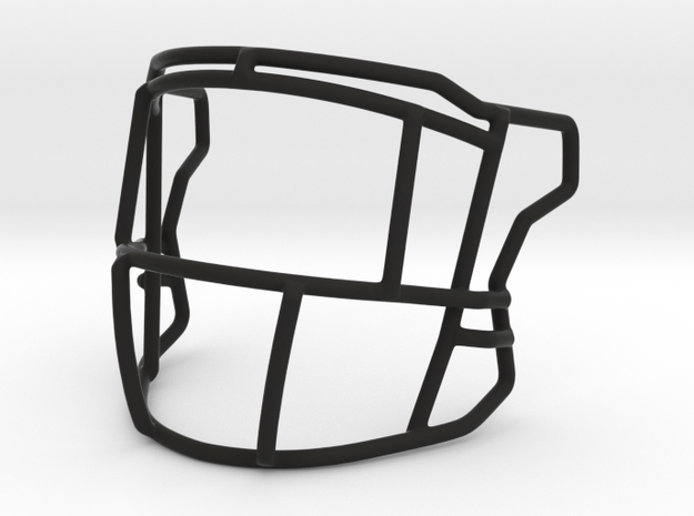 Ice Cage Style Speed Flex Mask With Eye Bars in Black Strong & Flexible
