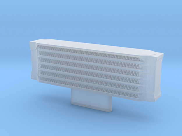 Oil cooler for the 1/8 MP4/4 Kyosho/DeAgostini mod in Smoothest Fine Detail Plastic