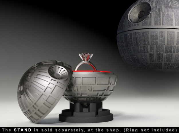 Death Star Ring Box - Star Wars Proposal and Engag