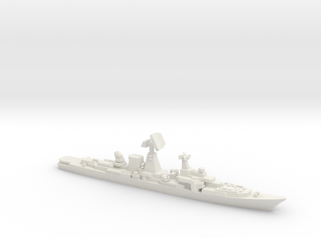 Cruiser Azov (Planned Modernization), 1/2400 in White Natural Versatile Plastic