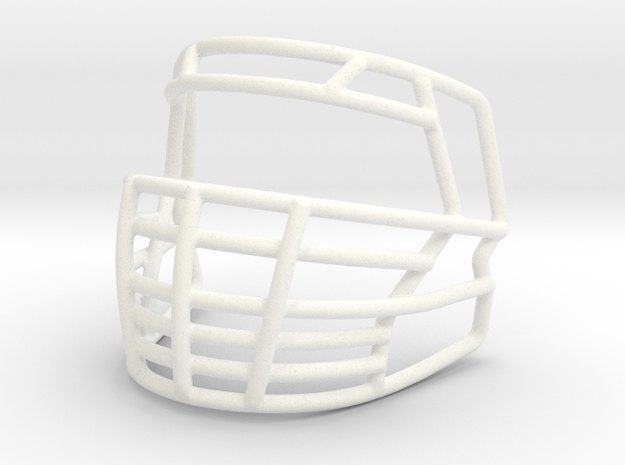 Big Grill 2.0 in White Strong & Flexible Polished