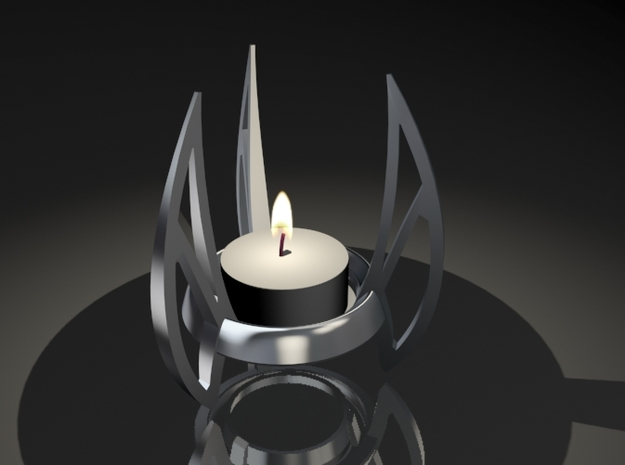Candle 07 3d printed