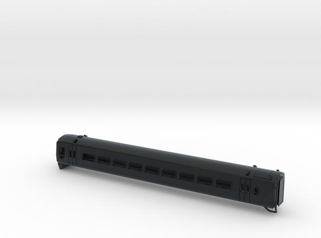 N Gauge Class 158 Version 1 in Black Hi-Def Acrylate