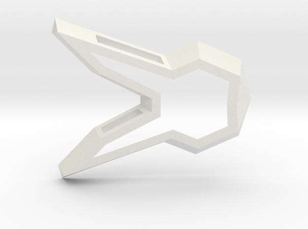 DVA Bunny Charm in White Strong & Flexible
