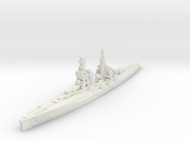 Zara class heavy cruiser 1/1800 in White Natural Versatile Plastic