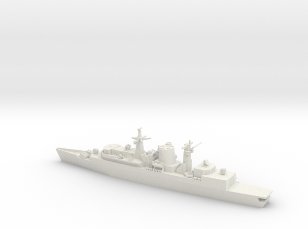 1/600 Type 22 Batch 1, HMS Broadsword in White Strong & Flexible
