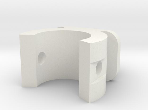Go Pro Mount Pole in White Natural Versatile Plastic: Small