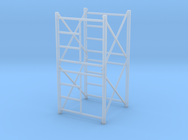 1/64 Scaffolding 2 high in Smooth Fine Detail Plastic