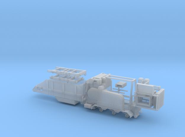1/64th Rotochopper material grinder trailer