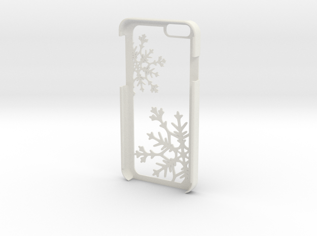 Snowflake iPhone 6/6s Case in White Strong & Flexible