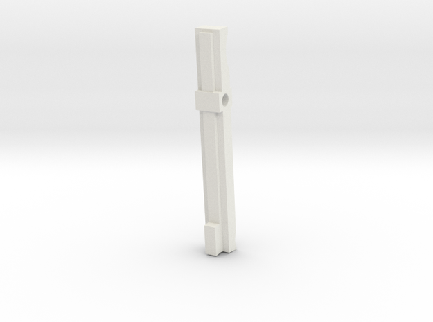 GL40 Trigger Bar (Part 2 of 6) in White Natural Versatile Plastic