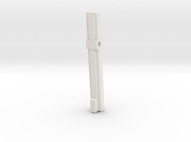 GL40 Trigger Bar (Part 2 of 6) in White Natural Versatile Plastic