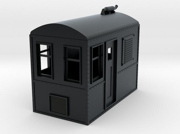 On18 Boxcab in Black Hi-Def Acrylate