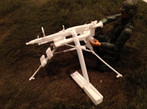 1:16 Lafette Tripod + MG42, ammo belt and box