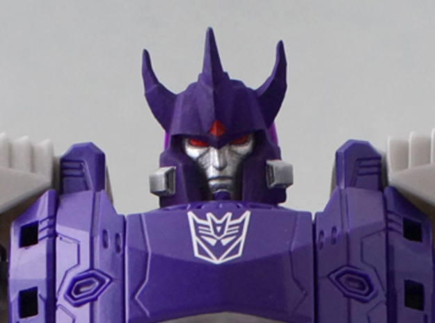 Galvatron idw for titans return in Frosted Extreme Detail