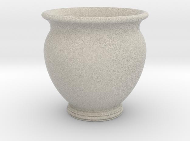 Antiquities Vessel 23, Cup No Handles in Natural Sandstone