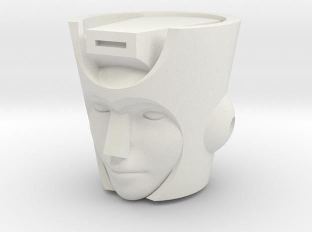 G1 Chromia Head for CW Breakdown in White Natural Versatile Plastic