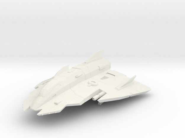 Lightweight Star Fighter in White Strong & Flexible: Small