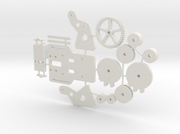 Ankerlier Printonderdelen SWB in White Strong & Flexible: 1:35
