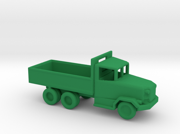 1/200 Scale M-47 Dump Truck in Green Strong & Flexible Polished