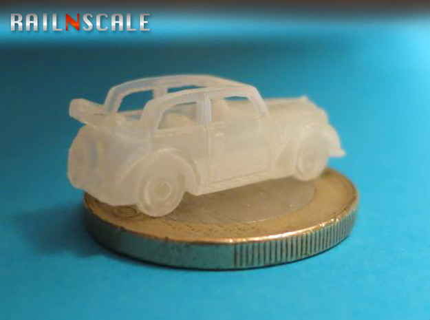 Opel Olympia Cabrio-Limousine (N 1:160) 3d printed