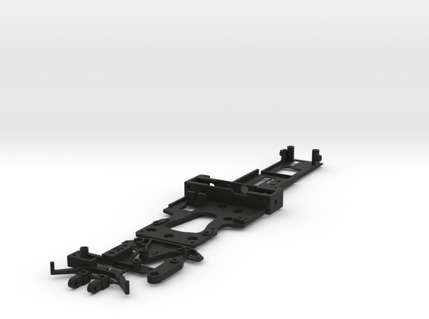 CK3 Chassis Kit for 1/32 Scale LMP MagRacing Car in Black Natural Versatile Plastic