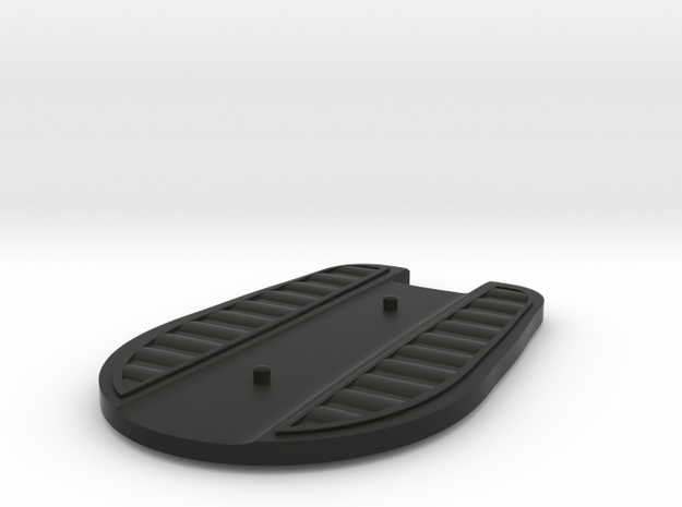 Hover Board (Disc) (2pegs) in Black Natural Versatile Plastic