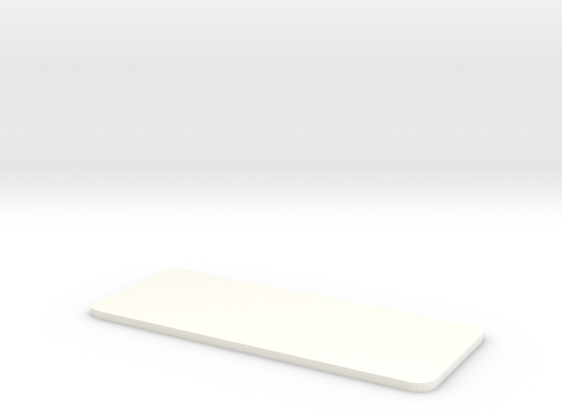 Closed Rear Side Window Left Right D90 D110 Team R in White Processed Versatile Plastic