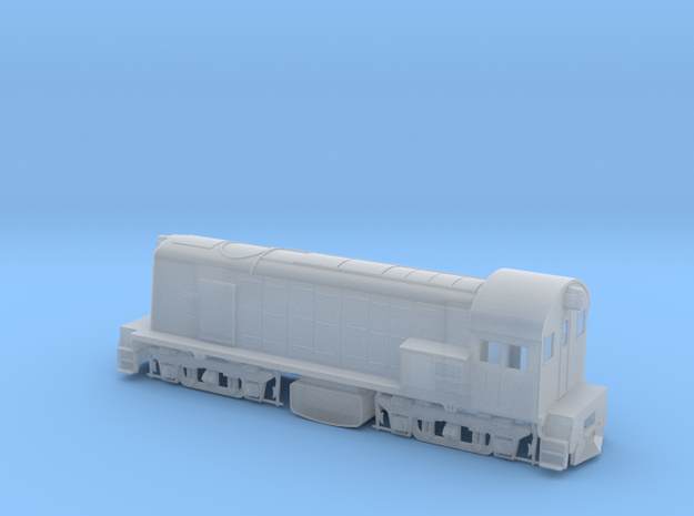 800 Class Loco in HO in Smooth Fine Detail Plastic