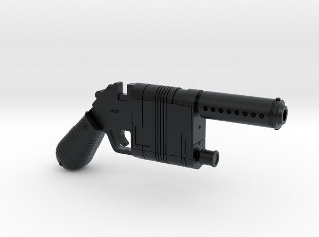 Rey's Blaster 1:6 in Black Hi-Def Acrylate