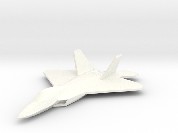 F22Fullfixed in White Strong & Flexible Polished