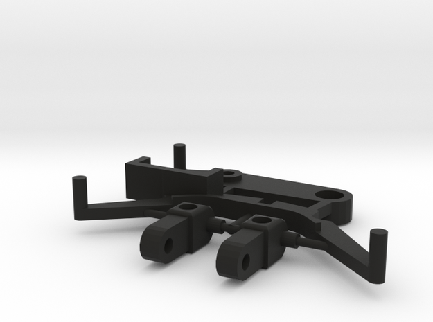 SP3 Spare Parts for CK3 Chassis Kit in Black Natural Versatile Plastic